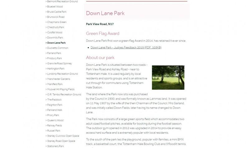 Down Lane Park