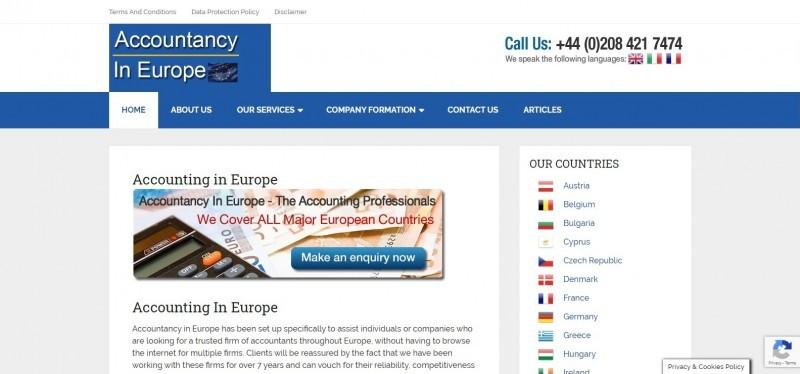Accountants in Europe