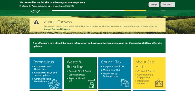 East Hertfordshire District Council