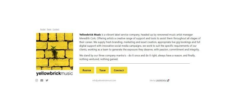 Yellowbrick Music