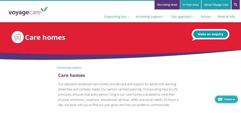 Voyage Care Services Ltd