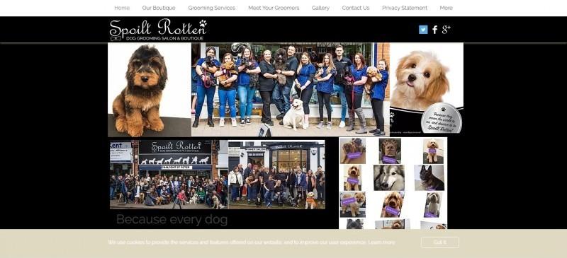 Spoilt Rotten Dog Groomer & Boutique Pinner