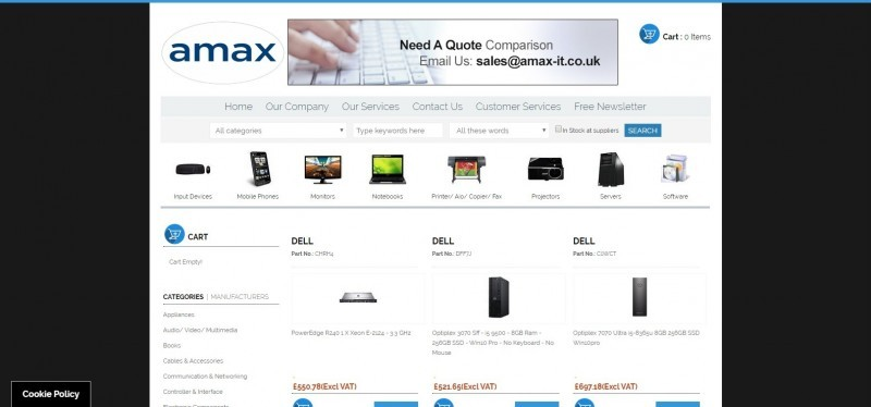 Amax IT Supplies Ltd