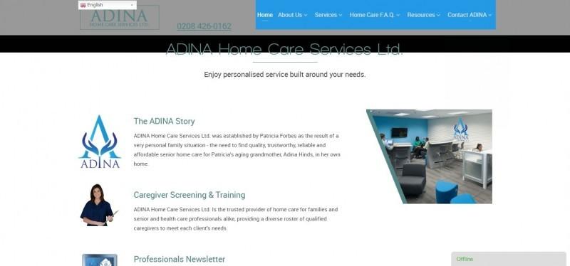 Adina Home Care Services Ltd