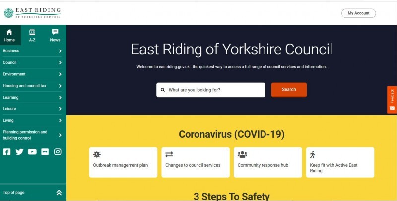 East Riding of Yorkshire Council