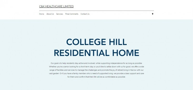 College Hill Residential Home