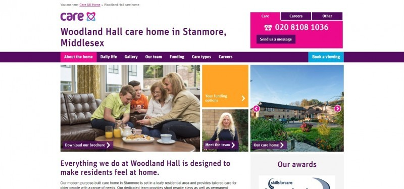 Woodland Hall - Care UK
