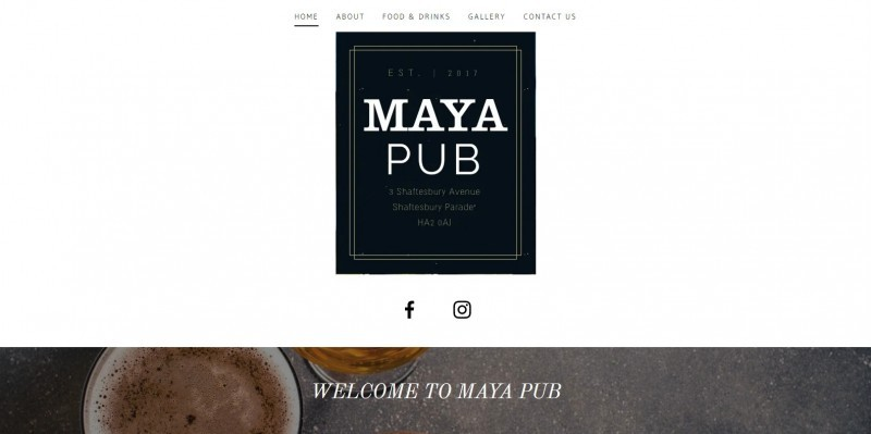 Maya Pub London