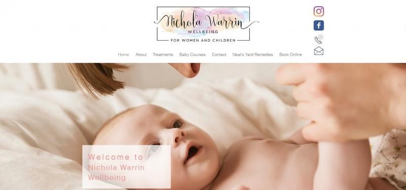Nichola Warrin Wellbeing for Women and Children