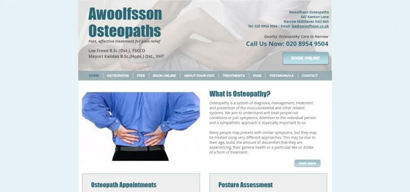 Awoolfsson Osteopaths Ltd