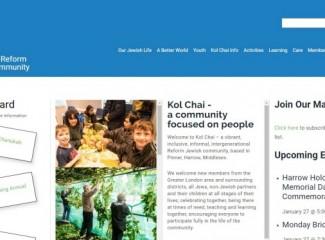 Kol Chai Hatch End Reform Jewish Community