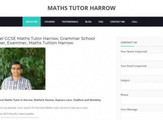 Grammar School Teacher 2020 - GCSE A Level Maths Tutor Harrow Pinner Watford Barnet