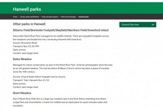Hanwell Meadows