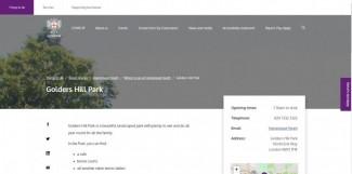 Golders Hill Park
