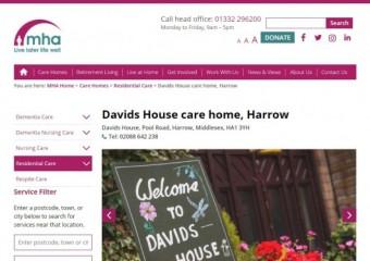 MHA Davids House - Residential & Dementia Care Home
