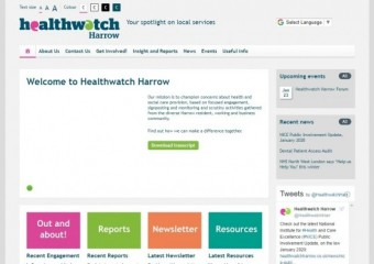Healthwatch Harrow Forum