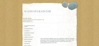 First Alternative Health Centre (Osteopaths) Peri Phokou