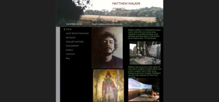 Matthew Walker scenic artist