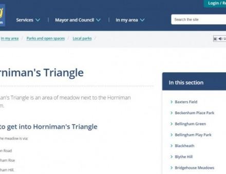 Horniman's Triangle