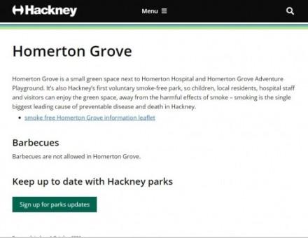 Homerton Grove