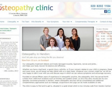 The Osteopathy Clinic