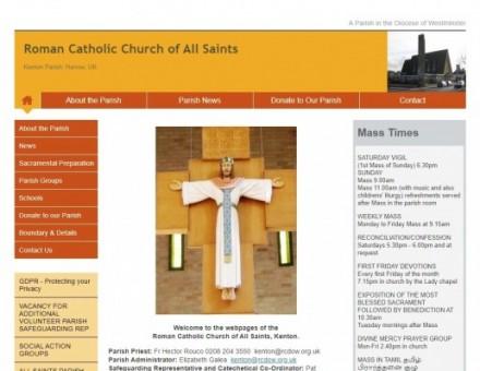 All Saints R C Church