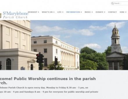 St Marylebone Parish Church Grounds
