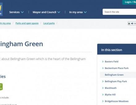 Bellingham Green Children's Park