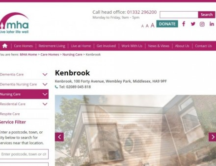 MHA Kenbrook - Residential & Nursing Care Home