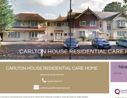 Carlton House Residential Care Home