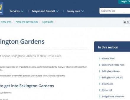 Eckington Gardens