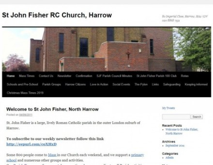 St John Fisher RC Church