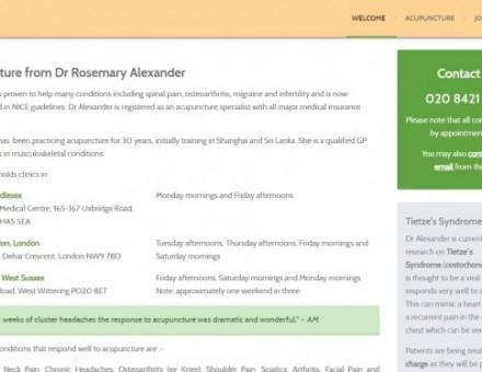 Dr Rosemary Alexander