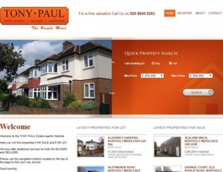 Tony Paul Estate Agents