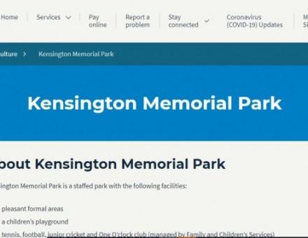 Kensington Memorial Park