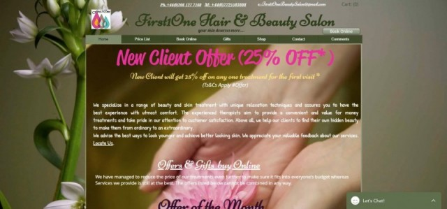 First1One Hair & Beauty Salon
