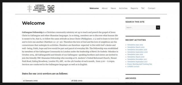London GaDangme Speaking Fellowship