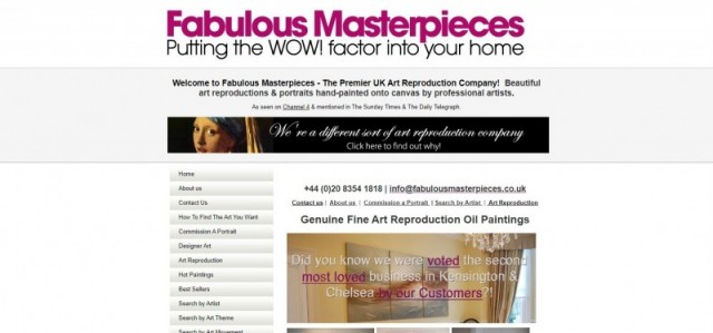 Fabulous Masterpieces