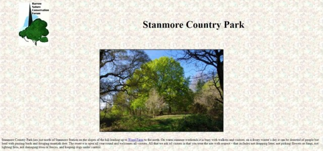 Stanmore Country Park, London
