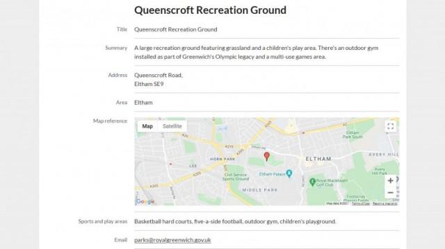 Queenscroft Recreation Ground