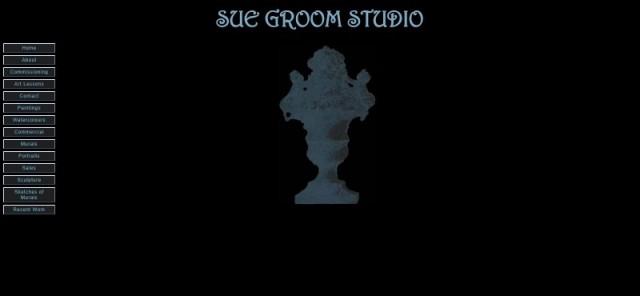 Sue Groom's studio