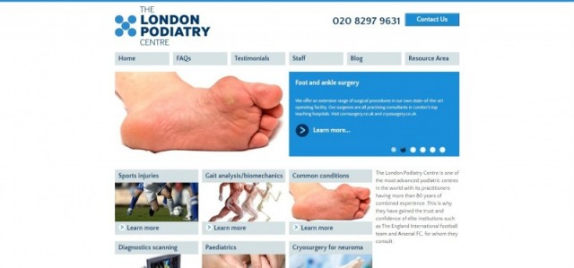 The London Podiatry Centre Ltd