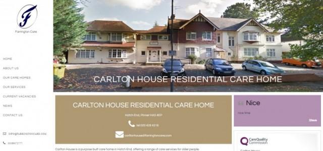 Carlton House Residential Care Home