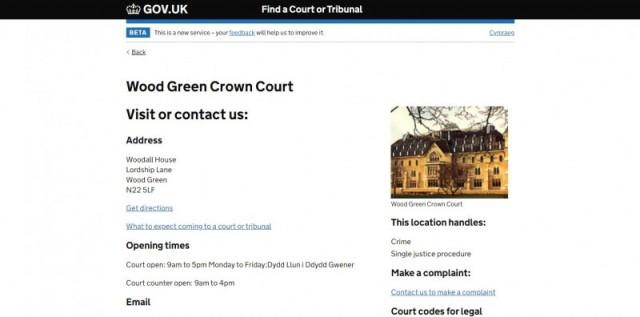 Wood Green Crown Court Gardens