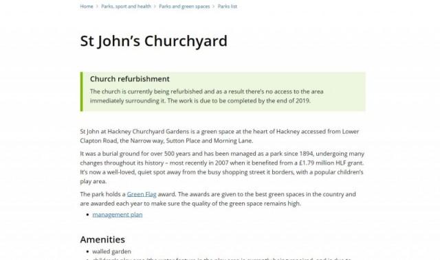 St John's Churchyard Gardens