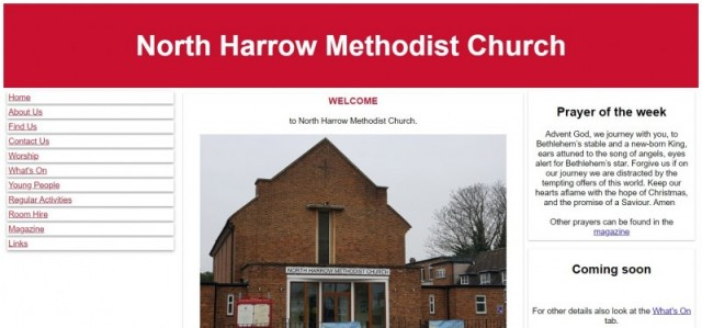 North Harrow Methodist Church