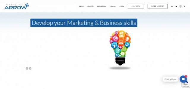 Marketing Arrow