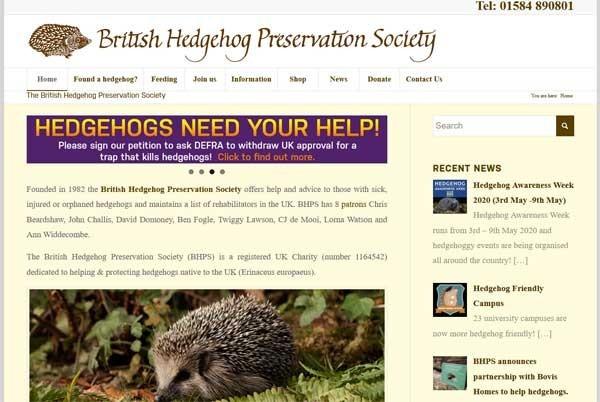 British Hedgehog Preservation Society