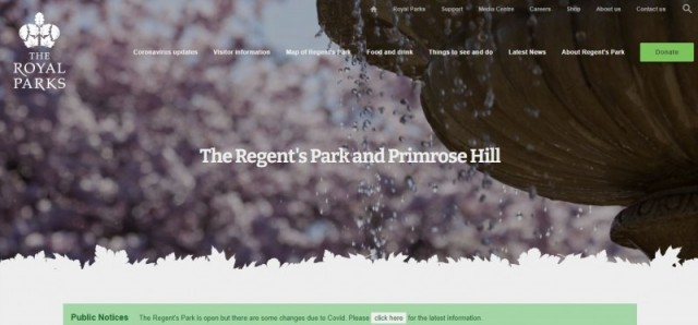 The Regent's Park&Primrose Hill