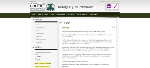 Cambridge & Ely Child Contact Centres